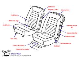 1968 corvette seats 1968 corvette seat parts parts accessories for corvettes