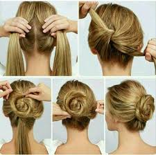 step by step hairstyles for long hair nest bun hairstyle and