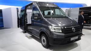 volkswagen concept van interior 2017 volkswagen crafter exterior and interior iaa hannover