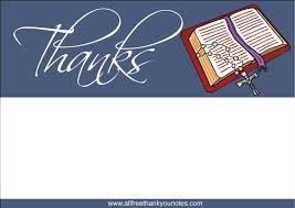 religious thank you cards free religious thank you notes and thank you cards