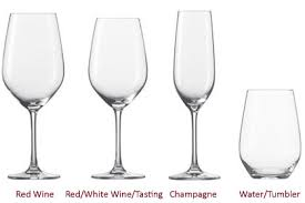 water glasses on table setting glass hire wine glass hire whisky glass hire wine tasting glass