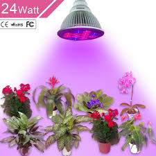 amazon com 24w led grow light bulb unifun e27 growing plant lamp
