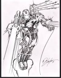 war machine by bob layton more great art available pinterest
