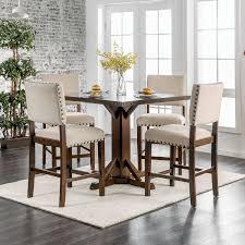 gracie oaks felix counter height 5 piece dining set u0026 reviews