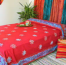 Indian Inspired Bedding Indian Bedspreads Block Print Bedspread From India Handmade