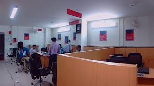 interior designing work at bandhan bank tamluk branch wb india