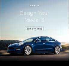tesla model 3 tesla model 3 configurator goes live for lucky few autoguide