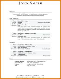 Resume Builder For Experienced Resume No Experience Resume Template Download Job Examples Sample
