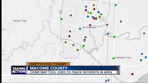 Oakland Crime Map Check Out The New Macomb County Crime Tracking Map Wxyz Com