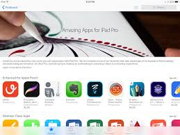 apple highlights ipad pro enhanced apps and games in new featured