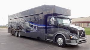 trailer garage showhauler unit 1519 2016 volvo motorhome w garage showhauler