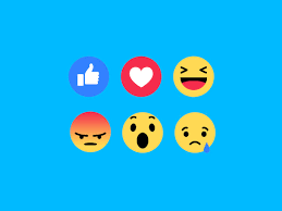 Blue Yellow And Black Flag Facebook Reactions The Totally Redesigned Like Button Is Here