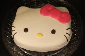 hello kitty fondant cake and cupcakes penny u0027s food blog