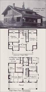 Bungalows Floor Plans by 1908 Bungalows By V W Voorhees Of Seattle Plan No 124 This