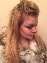 Halloween Werewolf Makeup Glam Werewolf Tutorial Simple Halloween Makeup 6 Bristolian