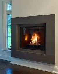 modern fireplace surrounds moving to modern the evolution of the gas fireplace