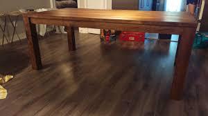 Rustic Maple Laminate Flooring Rustic Chic Maple Dining Table Album On Imgur