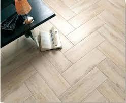 wood look tile flooring at ruggles green restaurant wood look