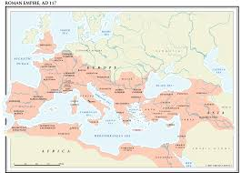 Roman Map Maps For History Of English Web World Lit