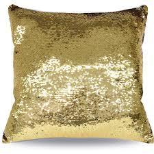 mainstays reversible sequin decorative throw pillow 17