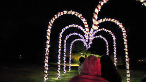 christmas lights train ride griffith park holiday train ride 2015 youtube