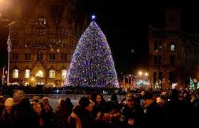 syracuse begins the search for clinton square christmas tree