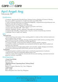 Resume Sample For Caregiver by Sample Resume Of Caregiver For Elderly Free Resume Example And