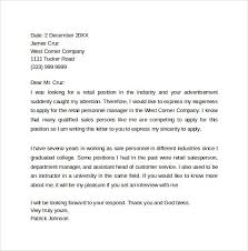 retail cover letter efficiencyexperts us