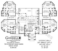 mountain cabin floor plans stonecliff cabins plan 07449 1st floor plan mountain