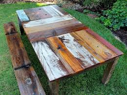 outdoor wood dining tables