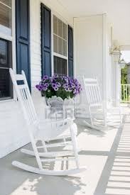 Best 25 White Rocking Chairs Front Porch Table And Chairs