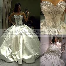 princess wedding dresses with bling turmec princess gown wedding dress with bling