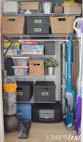 Rubbermaid Fasttrack Closet Get Organized Storage Closet Makeover