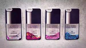 iphone 6 cases flow liquid style luxury nail polish back cover