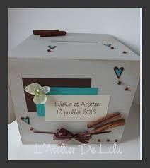 cagnotte mariage urne de mariage alexandra et l atelier de lulu