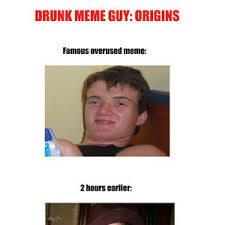 Guy Meme - drunk guy meme origins by recyclebin meme center