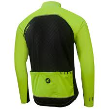 mens hi vis cycling jacket cool weather cycling jacket w pockets men u0027s breckenridge pactimo