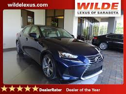 lexus of sarasota 2017 lexus is is turbo rwd 4dr car in sarasota l171355