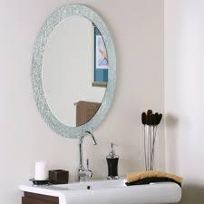 gatco marina beveled oval bathroom mirror atg stores shop allen