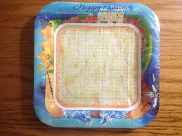 passover paper plates passover paper 7 in plates kosher l pesach mint collectibles