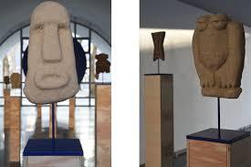 Sculpture En Bois D Olivier Galerie Sultana Olivier Millagou