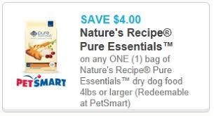 printable nature s recipe dog food coupons 2 1 bil jac frozen dog food and 4 1 nature s recipe pure