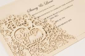 wedding invations laser cut wedding invitations collection