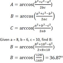 Interior Angles Calculator Triangle Calculator