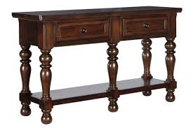 porter dining room server in rustic brown by ashley