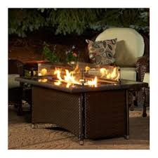 Reagan S Sunbeam Rug The Outdoor Greatroom Company Montego Crystal Fire Pit Coffee