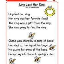 phonics words stories ng reading comprehension worksheet