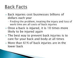 career prep ctr most back injuries are caused by lifting