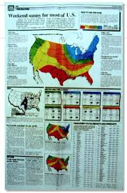 weather usa map usa today turns 30 part 3 a weather map that created a