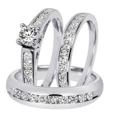 wedding trio sets cheap diamond trio wedding set find diamond trio wedding set